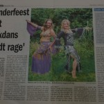 kinderfeest met buikdans wordt rage